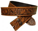 "Rodeo Embossed Full Grain Leather Belt - 1½"" (38mm) Wide. Design: EM030"